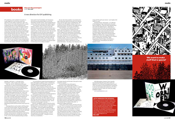 Plan B Magazine Issue XX feature - Books. Art direction and design by Andrew Clare